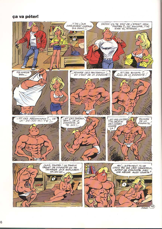 le sexe de la bande dessinée sexe trash