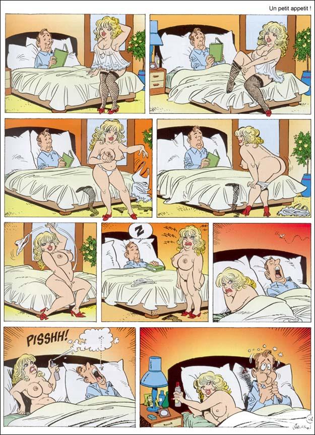 le sexe kiff le sexe de bande dessinée