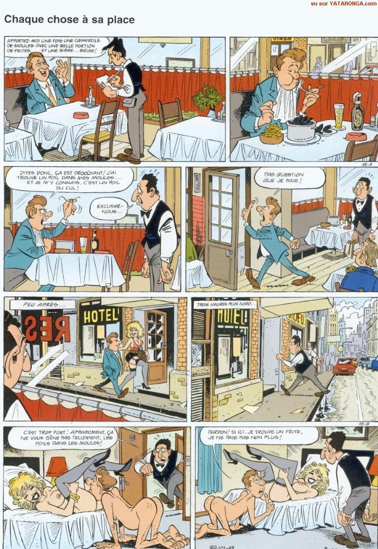 scénario sexe le sexe de la bande dessinée
